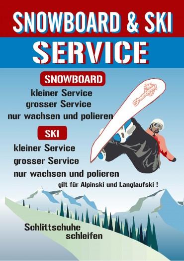 SNOWBOARD & SKI SERVICE